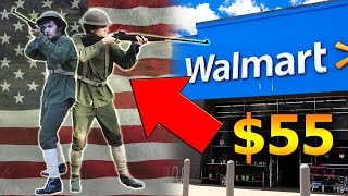 """🇺🇲We made a """"WW1 US Uniform"""" From Walmart for $50!!"""
