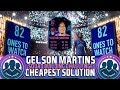 FIFA 19 GELSON MARTINS SBC CHEAPEST SOLUTION   SQUAD BUILDING CHALLENGE   FIFA 19 ULTIMATE TEAM