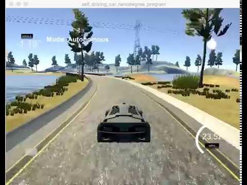 Behaviour cloning self-driving car (2X speed)