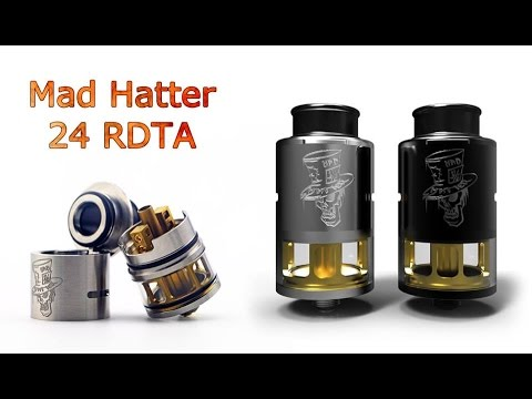 Vapor king vape shops official home page mad hatter carbon fiber by cloudcig mad hatter carbon fiber by. Rebuildable atomizer / rba / rda. Product.
