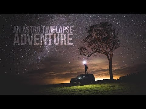 Astro photography timelapse adventure with Sean Parker