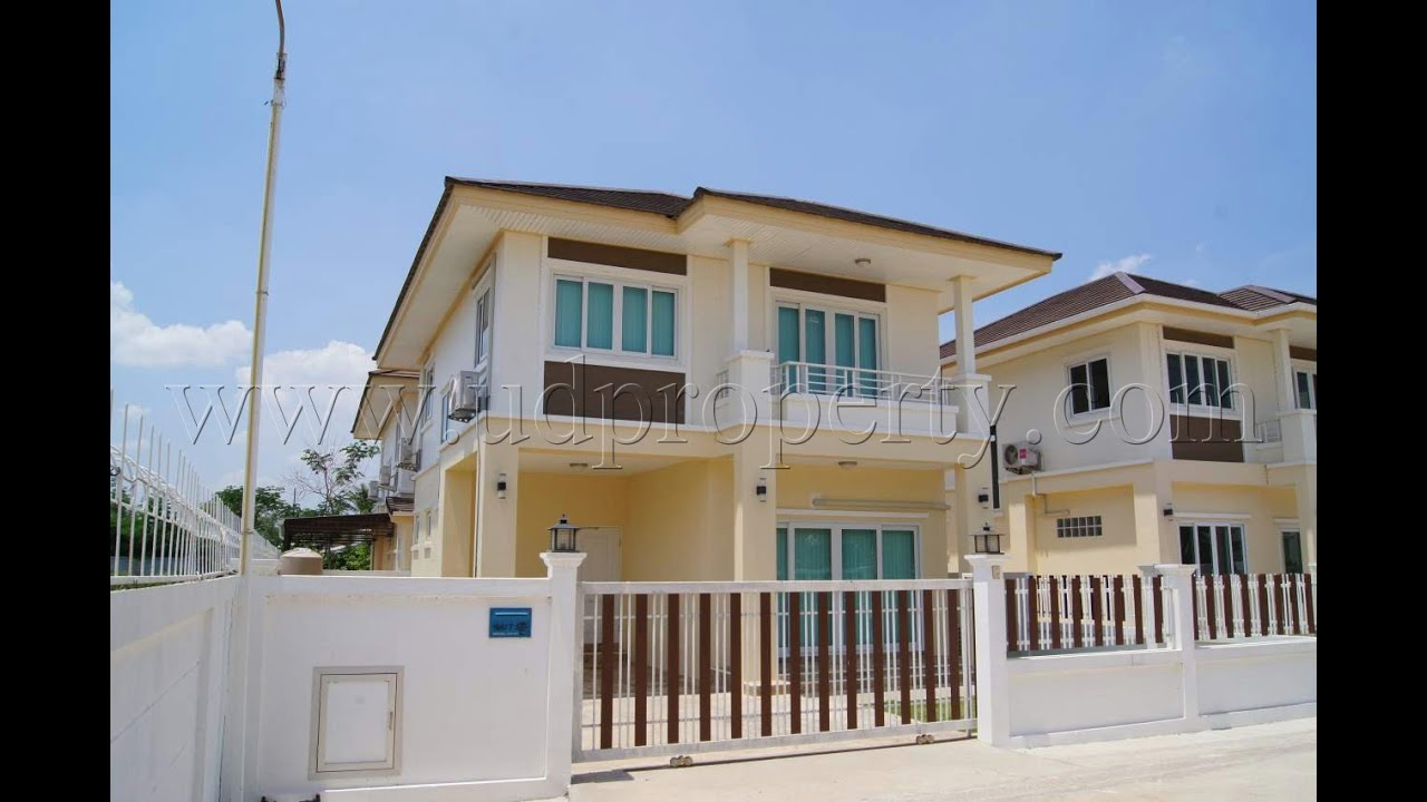 Brand new two storey house for rent in udon thani youtube