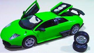Гоночная Машина Lamborghini Обзор Машины Lamborghini Murcielago Sv
