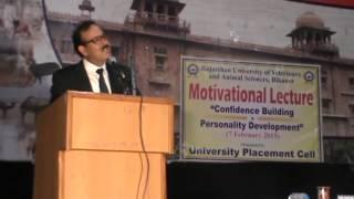 Motivational speech & personality dovlopment lecture by Mr. Manoj kumar Sharma