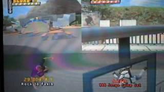 Awesome Tony Hawk's Pro Skater 4 Glitch