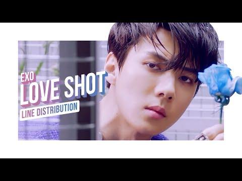 • EXO • Love Shot • Line Distribution • 엑소