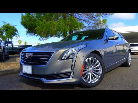 2017 Cadillac CT6 Plug-In Road Test and Review
