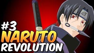 Naruto Revolution Gameplay #3 Os dois Uchiha