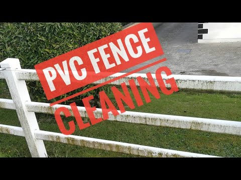 Pvc Fence Cleaning