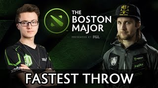 Fastest Throw of Boston Major — Liquid vs Alliance
