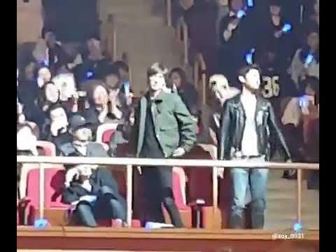 [190414] SUHO attend Super Junior D&E Concert