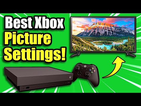Get The BEST PICTURE SETTINGS On XBOX ONE & Improve Your Graphics! (Best Method)