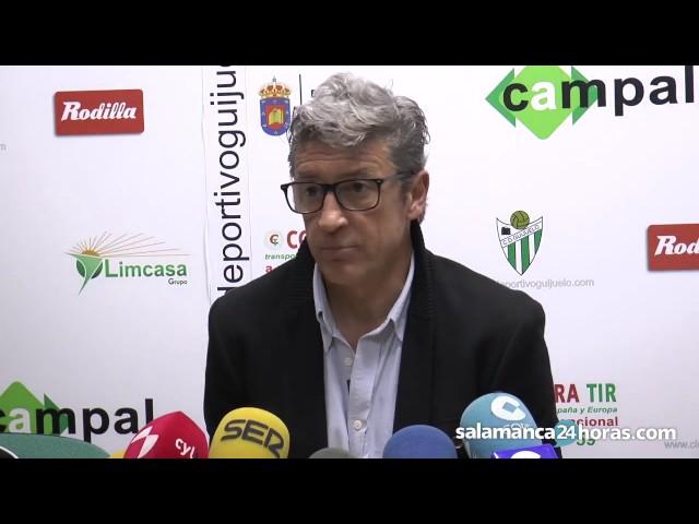 Rueda de prensa tras el Guijuelo - Ponferradina