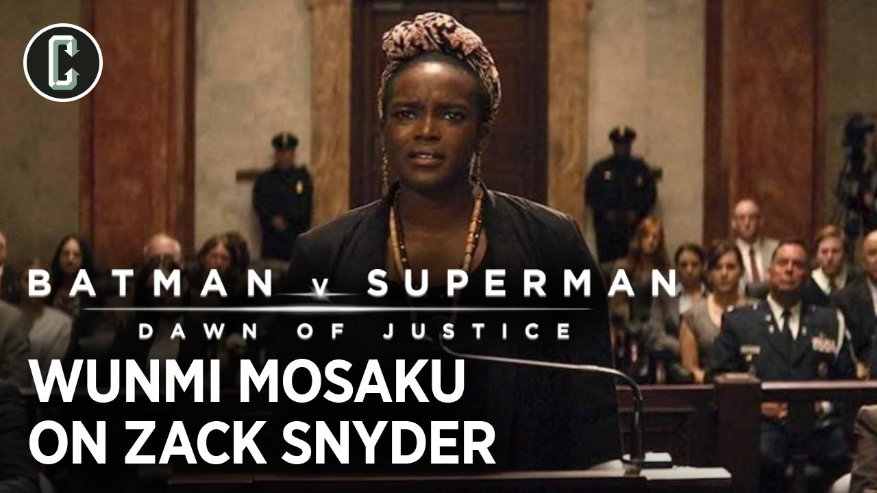 Batman v Superman's Wunmi Mosaku on Zack Snyder's Balancing Act