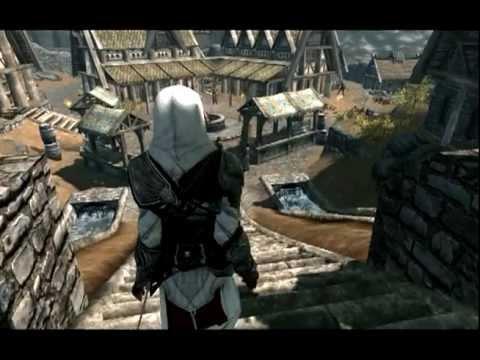 Skyrim Assassin S Creed Ezio Armor Youtube