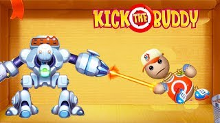 Random Weapons VS The Buddy #3  | Kick The Buddy | Android Games 2018 Gameplay | Friction Games