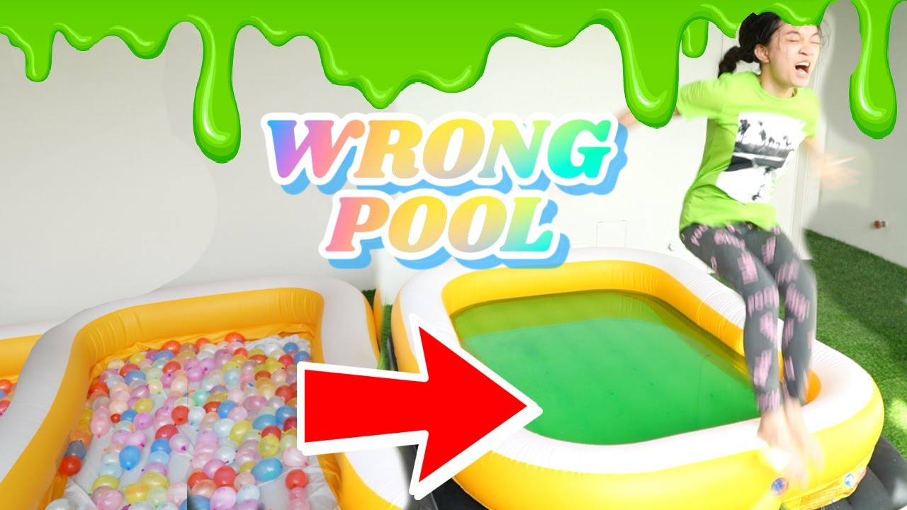 Download DON'T TRUST FALL INTO THE WRONG POOL CHALLENGE | KAYCEE & RACHEL in WONDERLAND FAMILY