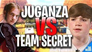 Atlantis Juganza VS Secret Mongraal & Secret Domentos   Fortnite Funny Moments 1