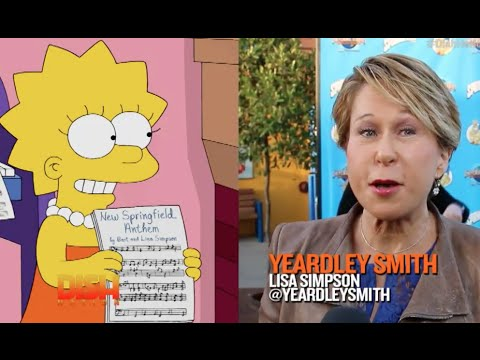 The Simpsons Cast Comes To Life!