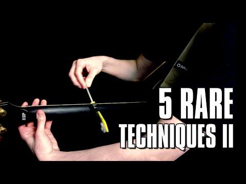 5 rare guitar techniques just for fun #2