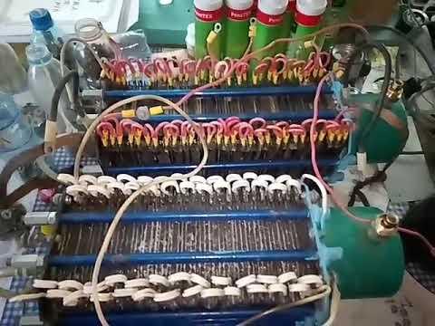 Халявное отопление. Новый электролизер на силиконе.