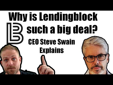 Why is LendingBlock such a Big Deal? HOT ICO