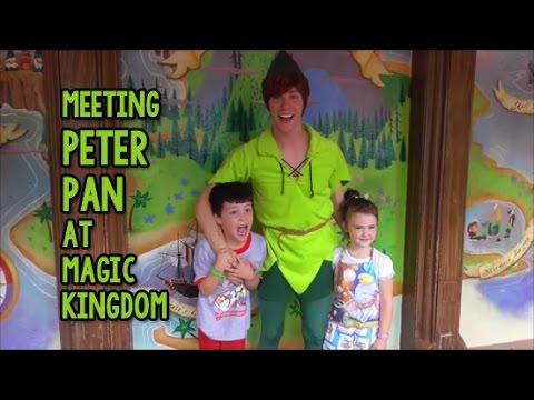 Meet peter pan magic kingdom