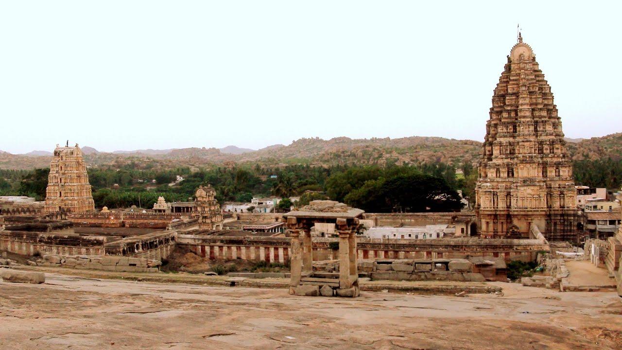Virupaksha Temple - Hampi, KARNATAKA...(Part 1) - YouTube