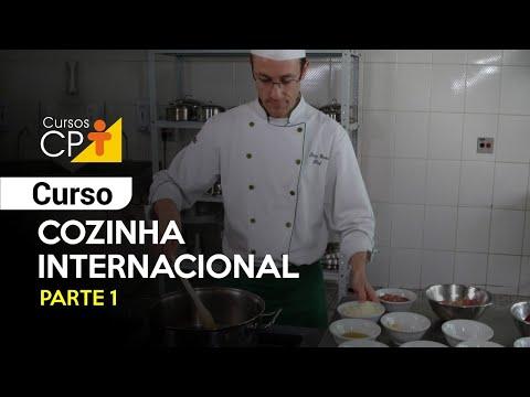 Clique e veja o vídeo Curso de Cozinha Internacional - Parte 1