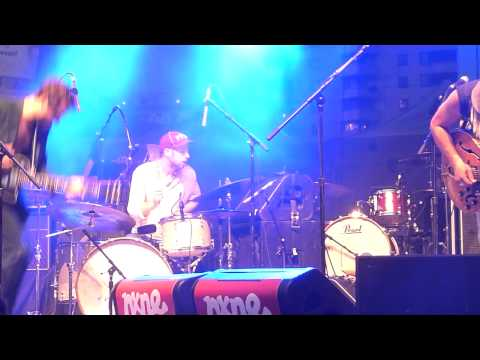 Plants and Animals - Faerie Dance - NXNE Dundas Square 2012-06-15