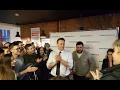 Навальный на открытии предвыборного штаба в СПб