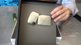 What's inside the YouTube Silver Play Button? thumbnail