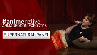 Armageddon Expo 2016: MANUKAU - Saturday : Supernatural Panel/Ruth Connell [#animenzlive]