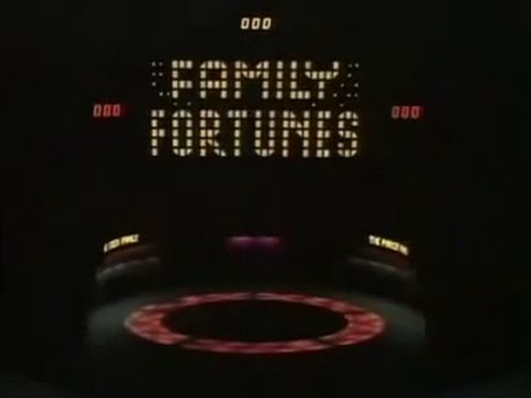 Family Fortunes - S1/Ep01!!! (1980)
