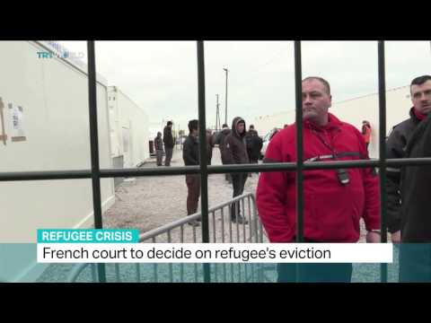 French court to decide on refugee's eviction