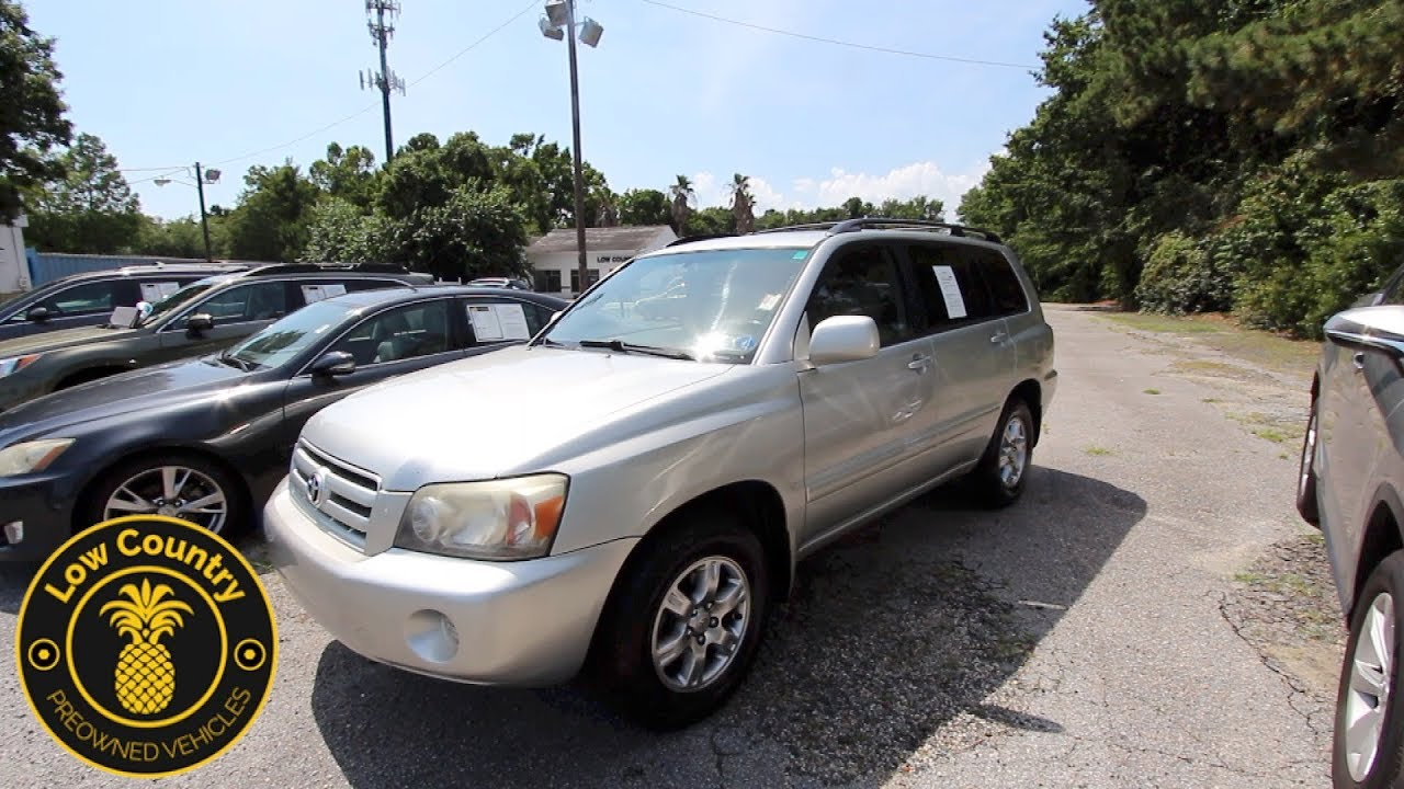 Hereu0027s A 12 Year Old Toyota! The 2006 Toyota Highlander Limited Review U0026  For Sale | Mt. Pleasant, SC