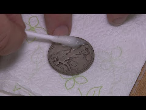 How to Clean a Coin Correctly