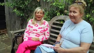 Jeanniebeanie.com meets BBC's'The Apprentice' interviewer Linda Plant at Battlers Green Farm 2021