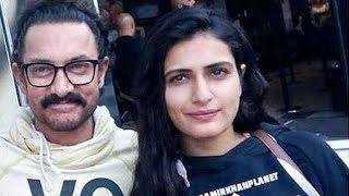 Aamir Khan Goes On A Movie Date With Dangal Girl Fatima Sana Shaikh!