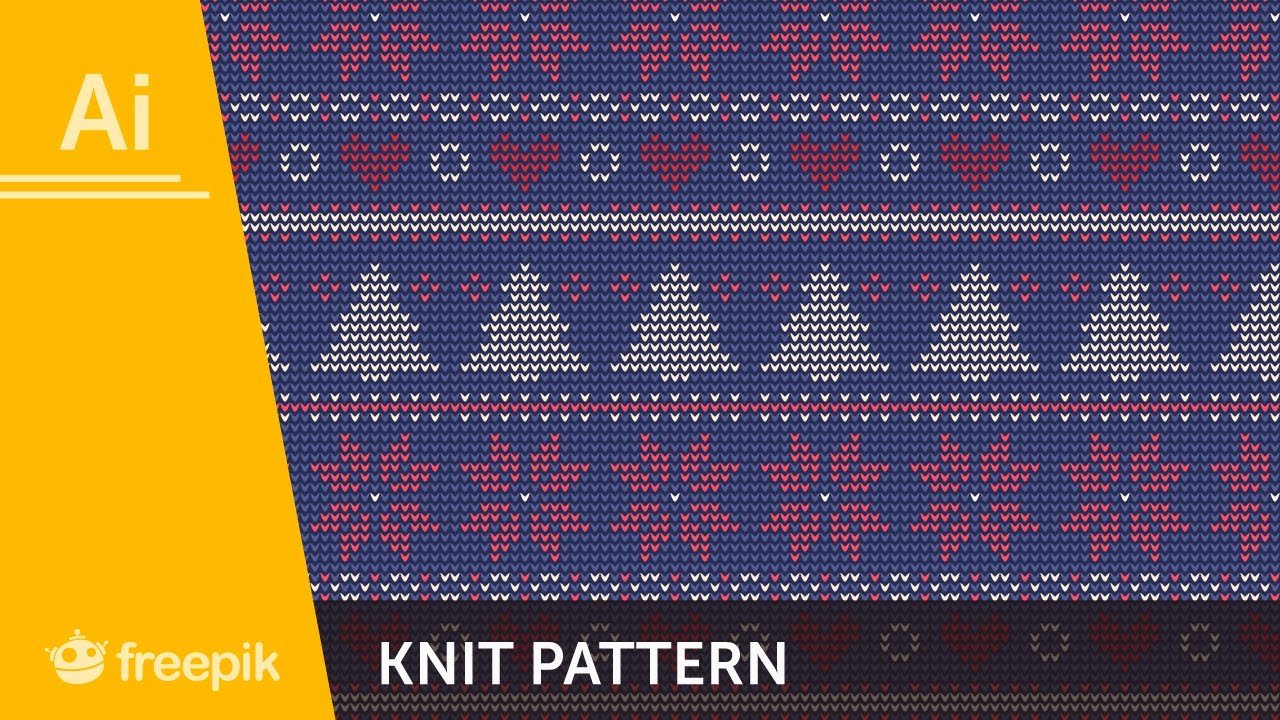 83dccf54e How to create a Knit Pattern in Adobe Illustrator
