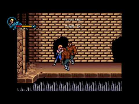 Double Dragon 1 Credit Clear - Double Dragon Trilogy |