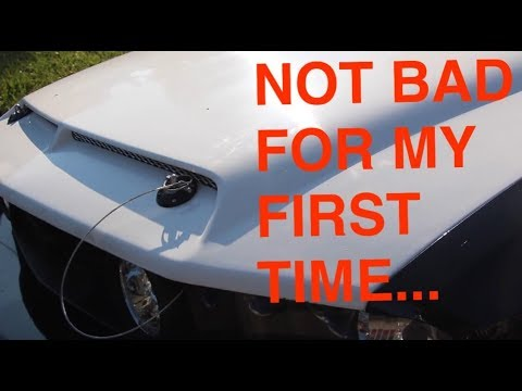 Installing Shelby Hood Pins Youtube