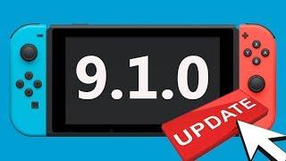 9.1.0 Novo  Update Nintendo Switch Chegando!