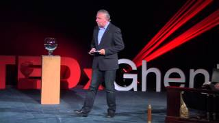 Is the glass half full or half empty? The final proof! Leo Bormans at TEDxGhent