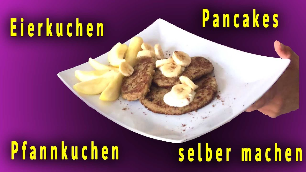 vegane pancakes selber machen deutsch rezept f r eierkuchen pfannkuchen ohne mehl milch ei. Black Bedroom Furniture Sets. Home Design Ideas
