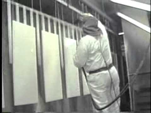 HS Tarm Denmark - Mid 1990's factory pictures - YouTube