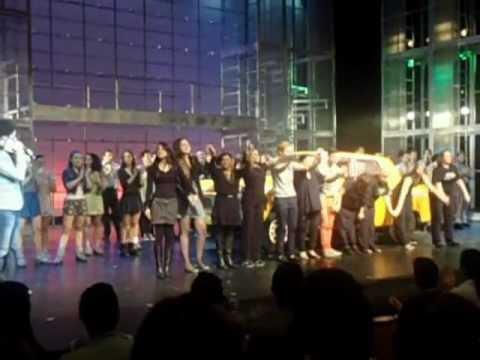 Agradecimentos no último dia de Fame, O Musical!