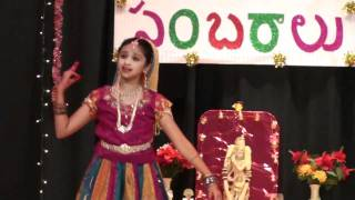 Sahiti Donthula - Mukunda Mukunda dance1 - CTA Deepavali 2010