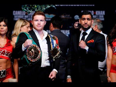 Watch: Canelo vs Khan final press conference