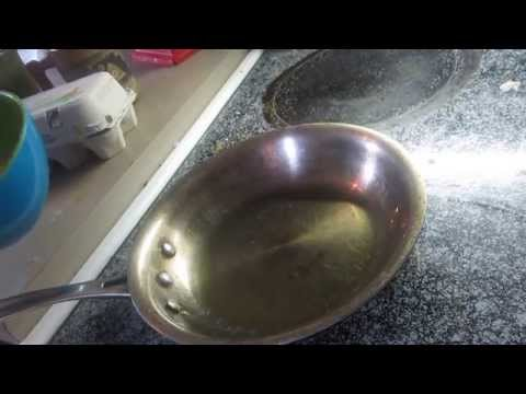 how to make damper in a fry pan